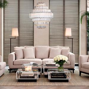Luxusní interiér od značky Eichholtz.