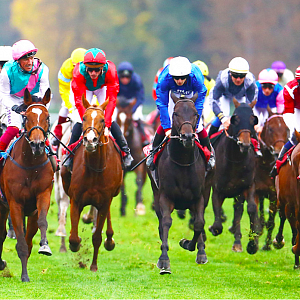Koňské dostihy QATAR PRIX DE L'ARC DE TRIOMPHE.