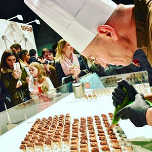 Akce plná čokolády Salon du Chocolat.