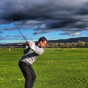 Roman Šebrle propadl golfu.