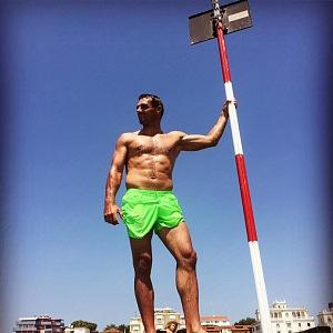 Roman Šebrle je i ve 45 letech hordou svalů.