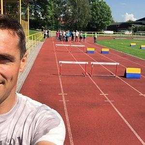 Roman Šebrle na sport nezanevřel.
