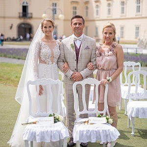 Na svatbu Romana dorazila i jeho sestra Edita, která žije v Bolívii.