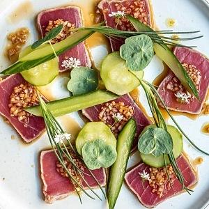 Sexy Fish. Tuňákové sashimi