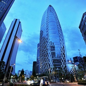 Cocoon Tower, Tokio