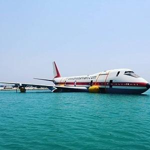 Letadlo je prý speciálně ošetřeno, aby neškodilo životnímu prostředí.