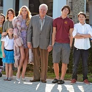 Siegel s rodinou