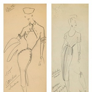 Christian Dior's work