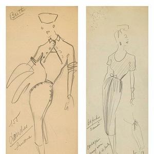 Náčrty Christiana Diora