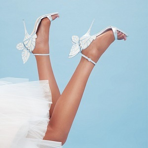 Wedding shoes by Sophie.