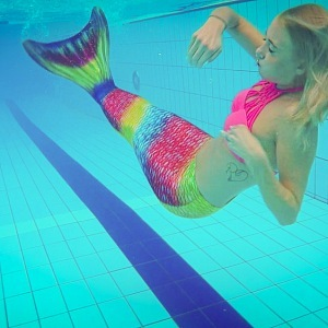 Like real mermaid