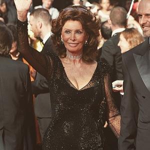 Sophia Loren na filmovém festivalu