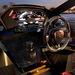 Specificky volant jachty Lamborghini 63