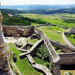 Spišský hrad - ohromný hradní komplex