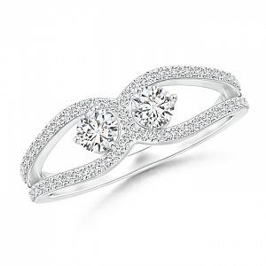 Zásnubní prsten Angara