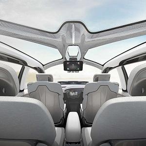 Interiér vozu Chrysler Portal