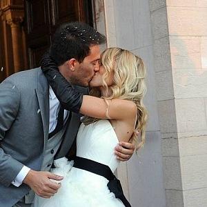 Riccardo Stefanelli and Camilla Cucinelli