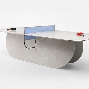 Pingongový stůl, Raw Edge