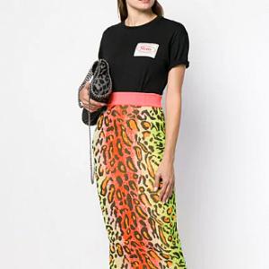 Barevná svetrová sukně Stella McCartney