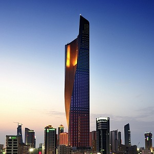 Luxusní mrakodrap Al Hamra Tower