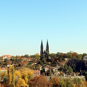 The view to Vyšehrad