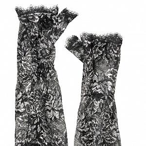 Stříbrné rukavice THE VAMPIRE´S WIFE X H&M