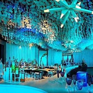 Bar pod mořem Subsix, Maledivy