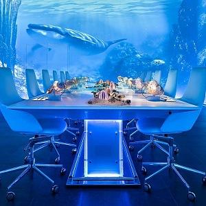 Sublimotion restaurant, Ibiza