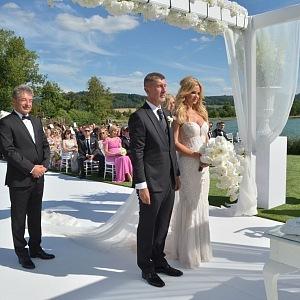 Manželé Andrej a Monika se vzali po 23 letech společného soužití.