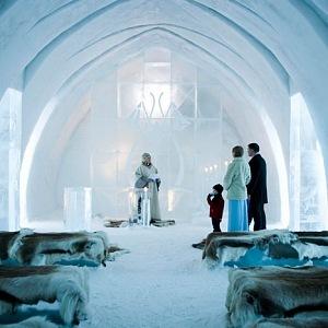 Swedish Ice Hotel – Jukkasjärvi, Švédsko