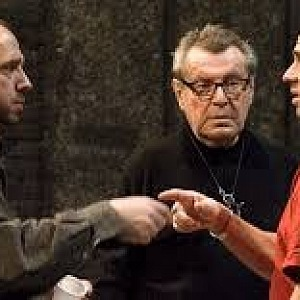 Miloš Forman and sons Petr and Matěj