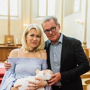 S tatínkem Jiřím Chrobokem, který je uznávaným lékařem v nemocnici Na Homolce.