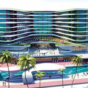 Exteriér: RESORT navrhl KARIM RASHID 2017, Cancun Mexico