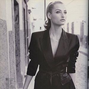 Tereza Maxová na černobílém snímku