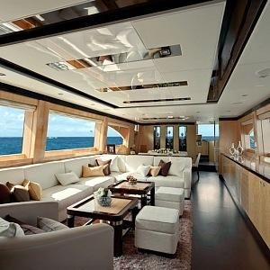 Luxus na jachtě