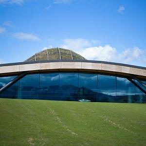 Maccallan palírna - nová budova