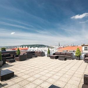 The Roof, střecha hotelu Novotel