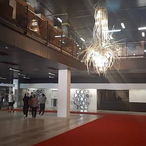 Prázdné interiéry hotelu Thermal