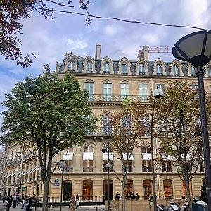 Butik Gucci na Avenue Montaigne.