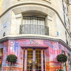 Butik Dior na Avenue Montaigne.