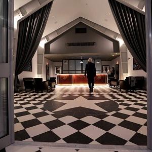 Vstupní hala, foyer, hotel Titanic