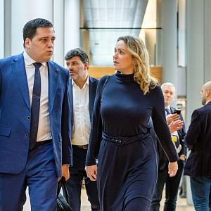 Europoslanec Tomáš Zdechovský v europarlamentu