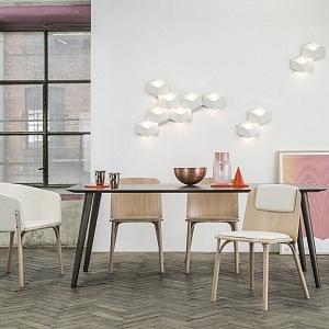 Kolekce sedacího nábytku Split od Arika Levyho pro značku TON