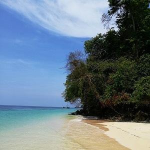 Čekají tu na vás krásné pláže a bílý písek