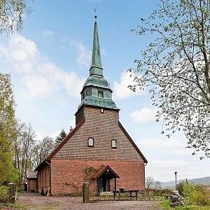 Bývalý kostel ve Švédsku