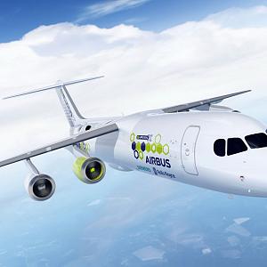 Airbus, Rolls-Royce a Siemens - hybridné letadlo