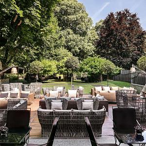 Hotel Bulgari Milan - unique gardens