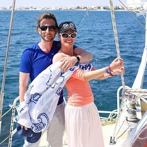 S přítelkyní Kristinou Kloubkovou oslavili roční výročí vztahu.