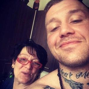 S maminkou.