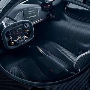 Aston Martin Valkyrie, interiér